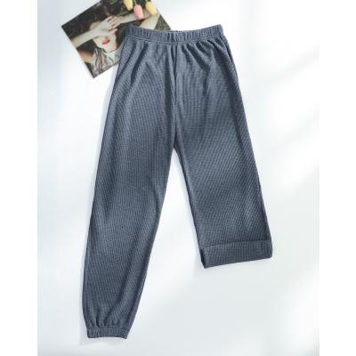 红豆居家Hodohome睡裤女长裤春夏薄款夏季宽松大码睡裤可外穿居家服