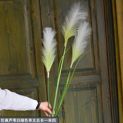 干花大芦苇客厅酒店仿真花假花家居落地插花摆设北欧ins装饰粉色