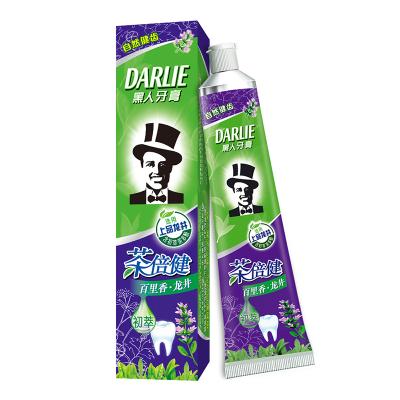 黑人(DARLIE)茶倍健百里香?龙井牙膏 140g