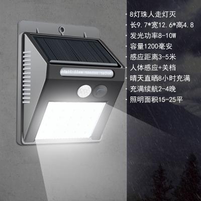 歐式圍墻燈太陽能燈家用柱頭燈庭院燈戶外防水門柱燈墻頭燈太陽能路燈