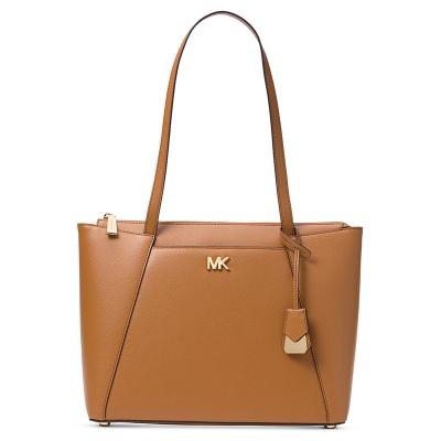 【直營】邁克·科爾斯(MICHAEL KORS) Maddie 中號女士拉鏈牛皮單肩包 MK女包 軟