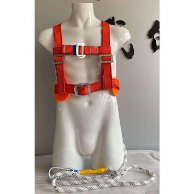 (定制產品,5天內發出)幫客材配 巴頓兄弟空調高空作業安全帶戶外國標安全繩3米雙小勾