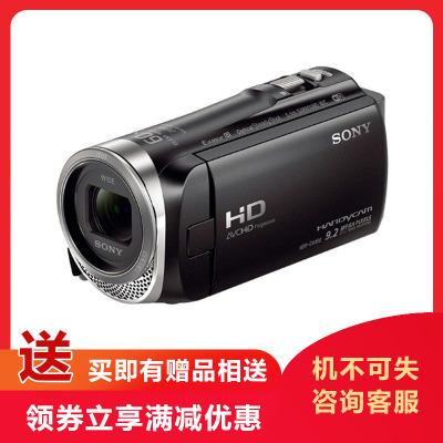 索尼(SONY)HDR-CX450 高清數碼攝像機 光學防抖 30倍光學變焦 蔡司鏡頭 支持WIFI 索尼攝像機 黑色