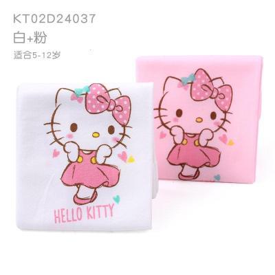 凱蒂貓兒童冰袖夏季超薄冰爽女孩冰絲防曬袖套女童卡通寶寶護手臂 KT02A24037兩副裝