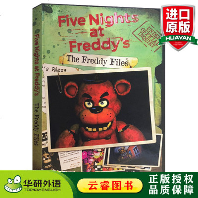 正版 玩具熊的五夜后宫 档案 英文原版 Five Nights at Freddy's: The Freddy Fi