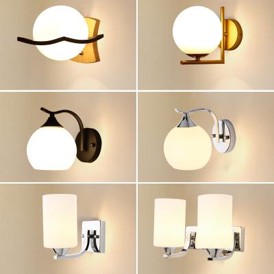 漢斯威諾壁燈 床頭燈 過道燈 簡約現代創意鏡前燈 LED燈具臥室衛生間壁燈 亞克力鏡柜化妝燈HS304036