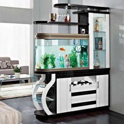 伊莱菲尔 客厅玄关柜鱼缸柜 间厅柜带鱼缸 隔断柜屏风鞋柜酒柜隔厅柜