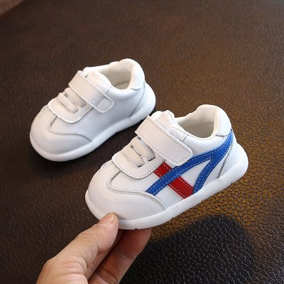 秋冬款软底女宝宝学步鞋0一1-2-3岁男小童运动加绒二棉鞋婴儿鞋子