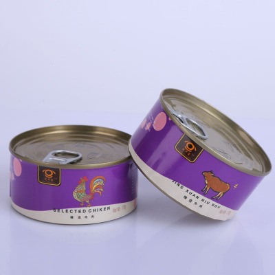 桃花會寵物食品源頭雞肉牛肉罐頭狗罐頭濕糧 寵物罐頭 170g/罐 雞肉味