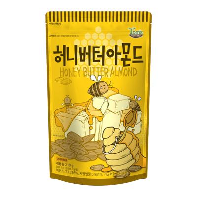 Tom's Farm 汤姆农场 蜂蜜黄油味扁桃仁 210G 进口坚果 每日坚果 韩国进口