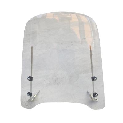 閩超小牛U1/U1c/US/U+電動車擋風板N1S/M1/M+前擋玻璃PC擋風雨板