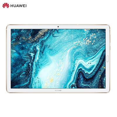 華為(HUAWEI)華為平板 M6 10.8英寸 4GB+64GB WiFi(香檳金)智能平板電腦 麒麟980芯片 2K高清屏 應用分屏 一屏兩用 哈曼卡頓調音 四聲道四揚聲器