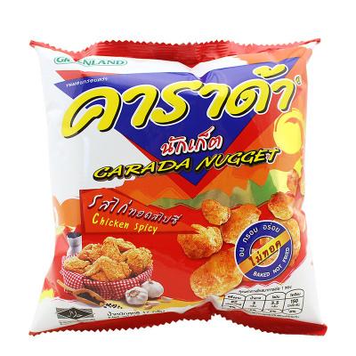 卡啦哒香辣鸡味米球(膨化食品)17g