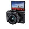佳能(Canon)EOS M100 (15-45)黑色微单单镜头套装相机2420万像素 触控翻转LCD 全像素双核对焦