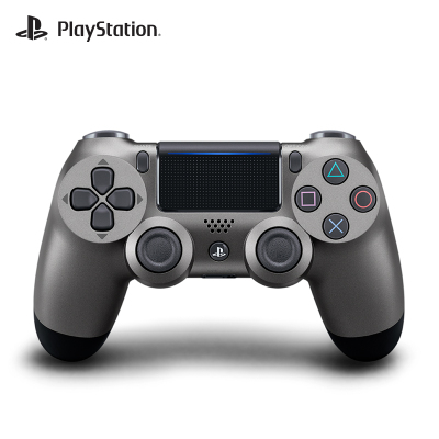 索尼(SONY)PlayStation 4 PS4原裝游戲手柄 無線手柄 國行正品 鋼鐵黑