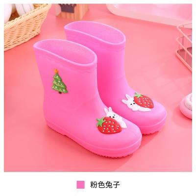 幼兒小孩防水水靴小童套裝公主兒童雨鞋男童女童雨靴防滑寶寶水鞋