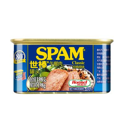 世棒 午餐肉-经典198g