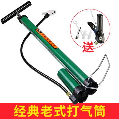 老式高壓打氣筒家用氣筒自行車電動車摩托車汽車充氣筒單車氣管子