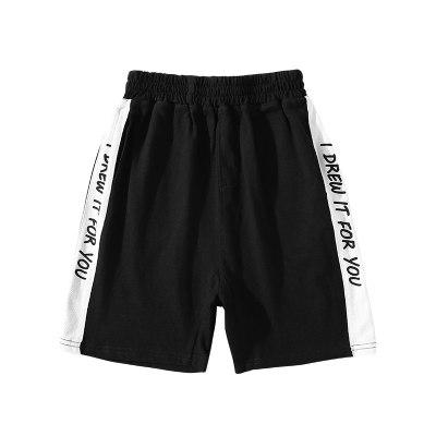 男童短裤夏装新款儿童五分裤中裤薄款中大童裤子运动裤港风潮