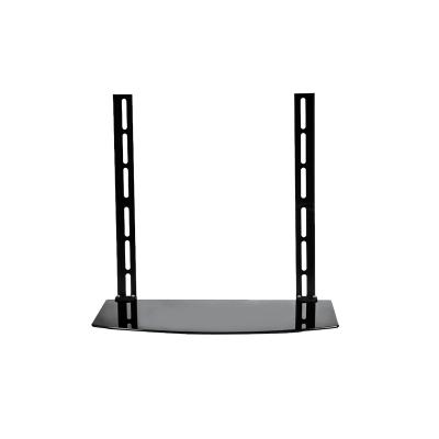 幫客材配電視掛架頂盒伴侶 免打孔通用數字電視機頂盒架