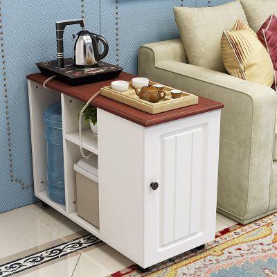 2020年新款輕奢邊幾小茶幾桌可移動客廳沙發邊柜簡約角幾歐式多功能功夫茶桌