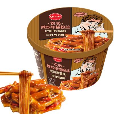 農心進口辛拉面泡面出品炒年糕粉絲四川炸醬味128g即食速食便攜