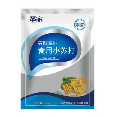 圣家食用小蘇打粉烘培餅干原料碳酸氫鈉梳打粉果蔬清洗去污去黃牙齒膏家用200g*3袋