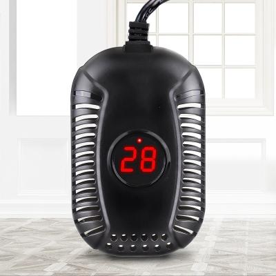 乌龟缸浅水保温加热棒自动恒温养龟专用小型鱼缸低水位加温过冬器 离水断电款YE-2【100W】+温度计