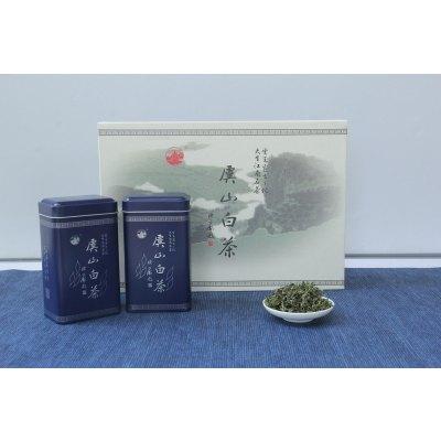 虞山綠茶 白茶雨前新鮮茶葉100g藍罐禮盒包裝