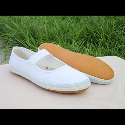 環球(HUANQIU)鞋舞蹈表演鞋全碼中小學生團體操鞋運動鞋白球鞋護士鞋彩舞鞋
