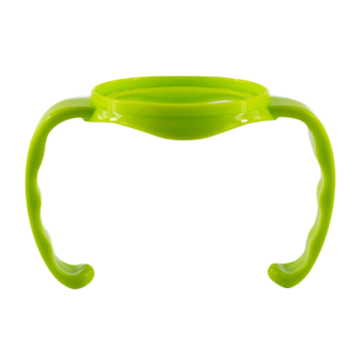 适合配适贝亲(PIGEON)宽口径奶瓶使用手柄绿色单个把手pp 奶瓶配件PJZP01