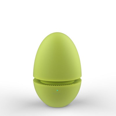 根元舌尖衛糖果蛋檸檬綠(USB充電)冰箱專用凈化器除臭空氣殺菌去除異味保鮮 低臭氧性消毒殺菌保鮮冰箱凈化