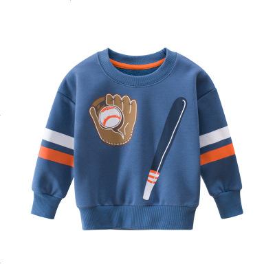 27KIDS 童装秋冬款韩版儿童婴童卫衣加绒男童运动休闲套头衫