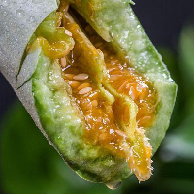 【湖北順豐可發】山東羊角蜜甜瓜水果新鮮現摘發貨3斤/5斤順豐直發 脆甜多汁
