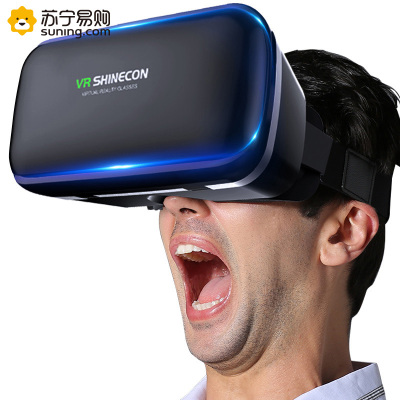 VR-SKY六代VR眼镜G04单机版VR眼镜3D虚拟现实眼镜苹果安卓VIVO小米华为OPPO适用VR虚拟现实眼镜