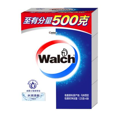 威露士健康香皂水润清新四盒装125g*4