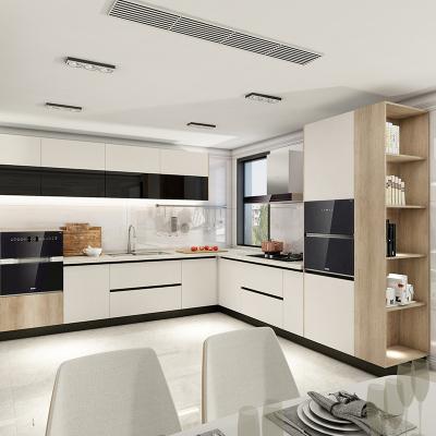 欧派橱柜定制整体厨房橱柜石英石台面现代简约厨柜开放式9999元橱柜套餐预付金