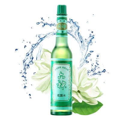 六神花露水195ml(清涼舒爽,祛痱止癢)經典玻璃瓶花露水