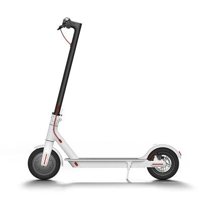 小米(MI)米家电动滑板车 电动自行车 30公里长续航 智能电助力折叠车代步车平衡车白色时速可达20-30km/h