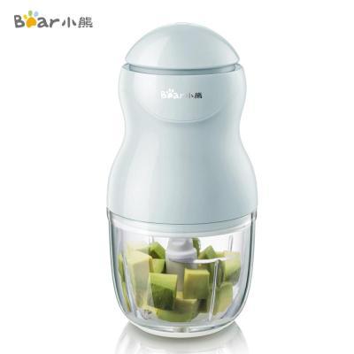小熊(Bear)料理机 家用辅食机婴儿宝宝搅拌机 多功能电动迷你小型绞肉泥机 0.3L高硼硅玻璃杯体 QSJ-A01F2
