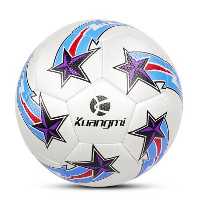 狂迷世界杯足球蓝白5号球耐磨高弹性成人青年少年球个性花式训练专业比赛锻炼用球