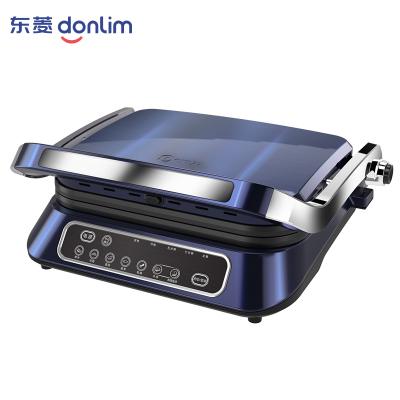东菱(Donlim)牛扒机DL-N01牛排煎锅牛排盘三明治机家用商用全自动电扒炉牛扒器鱿鱼压烤机