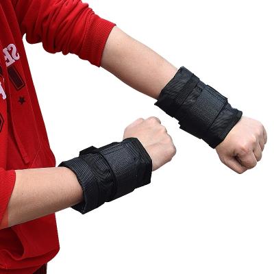 沙袋綁手可調節負重鋼板鉛塊沙袋閃電客手腕健力腕負重設備1-15kg