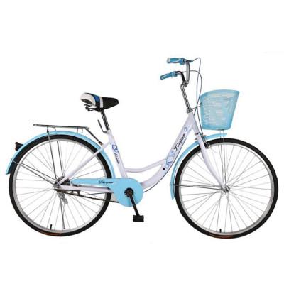 22寸24寸26寸公主学生自行车单速V刹芭蕾淑女单车轻便自行车男女士不可折叠伊尔玛(YIERMA山地自行车