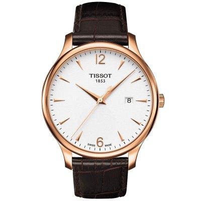 天梭(TISSOT)手表 俊雅系列 瑞士石英表男士手表商务时尚休闲运动防水男表手表男