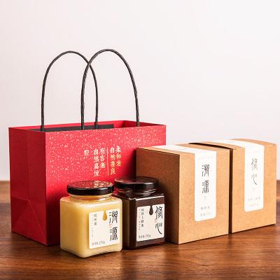 心之源 高檔蜂蜜禮盒 純正天然椴樹蜜農家 年貨禮盒裝滋補蜂蜜修心蜂蜜