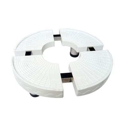 帮客材配 空调柜机底座 材质:PP塑料 规格:圆形 单价:54元/个 10个/箱