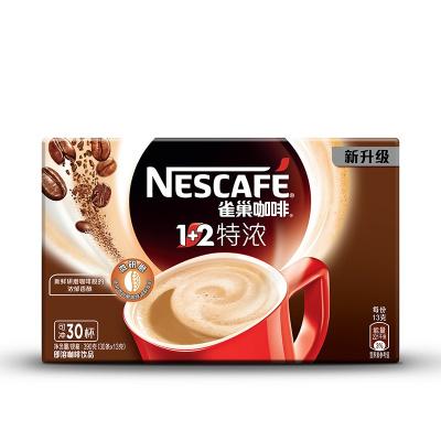 雀巢(Nestle)1+2特濃咖啡 390g盒裝 速溶咖啡