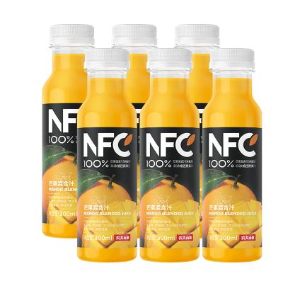 農夫山泉100%NFC純果汁冷壓榨芒果汁300mlX6