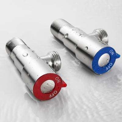 優勤不銹鋼三角閥冷熱水家用閥門水管分水止水熱水器直通角閥